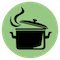 Community kitchens icon